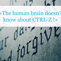 History doesn't care about «Ctrl Z»